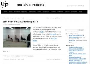 UNIT-PITT Projects - Screen