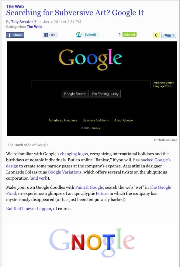 google subversive
