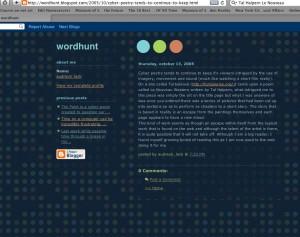 wordhunt on Nouveau