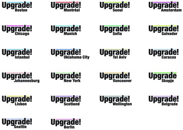 Upgrade! Logos